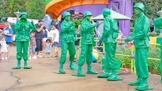 Download Green Army Patrol Boot Camp FULL SHOW in Toy Story Land at Walt Disney World Video