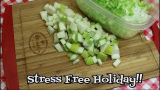 Download Stress Free Thanksgiving Prep ~ Chop, Slice & Dice In Advance ~ Bamboo Cutting Board Product Share Video