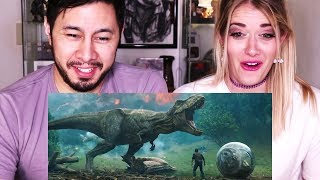 Download JURASSIC WORLD FALLEN KINGDOM | Trailer Reaction w/ Bri Rivers! Video