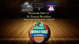 Download Savannah State vs St Francis Brooklyn - Emerald Coast Classic 2016 Video