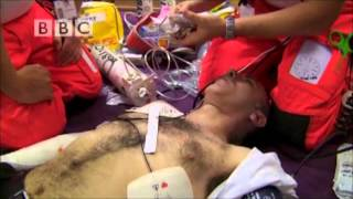 Download Chris Solomons Sudden Cardiac Arrest Rescue - BBC Helicopter Heroes Video