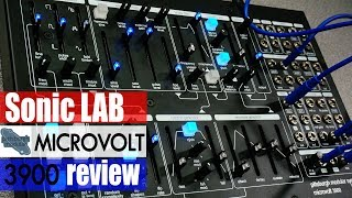 Download Sonic LAB: Pittsburgh Modular Microvolt 3900 Synth Video