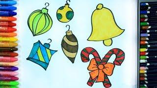 Download Cara menggambar ornamen Natal - Cara Menggambar dan Mewarnai TV Anak Video