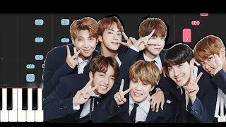 Download BTS - PIED PIPER (Piano Tutorial) Video