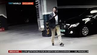Download CCTV footage shows second vehicle near abandoned Saudi consulate car Video