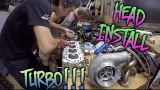Download TURBO 240SX BUILD   HEAD, HEADGASKET, AND COPPER SPRAY? Video