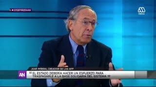 Download José Piñera, el padre de las AFP en AhoraNoticias de Mega - Miércoles 3 de Agosto 2016 Video