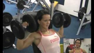 Download Jana Kolbaska Muscle Training (Part 1) Video