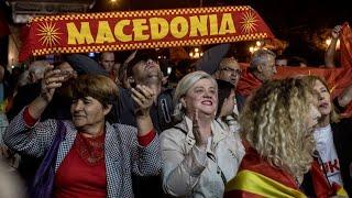 Download Greek leader welcomes Macedonia name-change vote Video