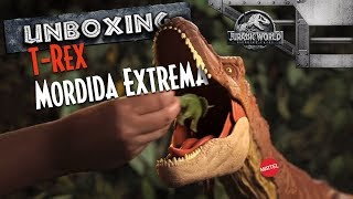 Download Unboxing T-Rex Colosal | Jurassic World Video