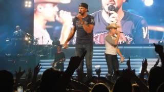 Download Luke Bryan & Dustin Lynch - Play Something Country - Charleston, WV (4/7/16) Video