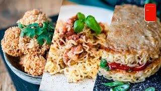 Download 3 Easy Recipes with Instant Ramen Noodles Video