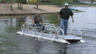 Download Hotwoods Fish-N-Sport 510 Pontoon Boat Video
