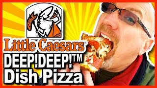 Download Little Caesars ★ DEEP! DEEP!™ Dish Pizza + Crazy Bread® Review Video