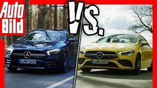 Download Mercedes-AMG A 35 Limousine vs. CLA 35 (2019): Vergleich - Daten - Test Video