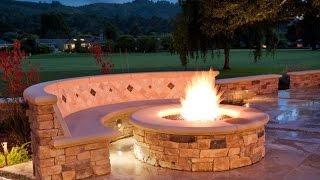Download Backyard Fire Pit Video