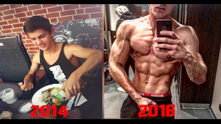 Download 17 Years Old 2 Years Body Transformation - Skinny to Fit - Muscular Aesthetic | Before After Video