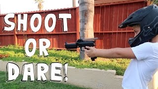 Download SHOOT OR DARE PAINTBALL GUN CHALLENGE! Video