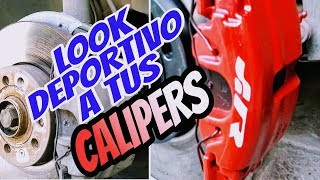 Download COMO PINTAR Y DARLE UN LOOK DEPORTIVO A TUS CALIPERS Video