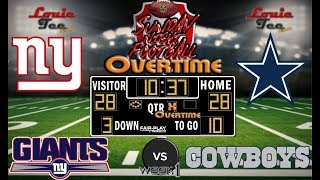 Download 2017 LIVE! NFL Analysis   Giants vs. Cowboys WK 1   SNF OVERTIME #LouieTeeLive Video
