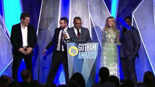 Download Jordan Peele and team winning the Audience Award for GET OUT at the 2017 IFP Gotham Awards Video