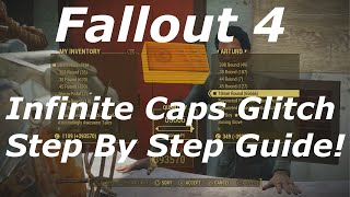 Download Fallout 4 Infinite Caps Glitch Step By Step Guide! Unlimited Caps In Fallout 4! (Fallout 4 Glitches) Video