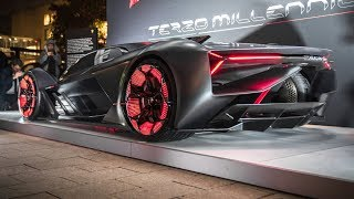 Download 2019 Lamborghini Terzo Millennio - Self-Healing!! Video
