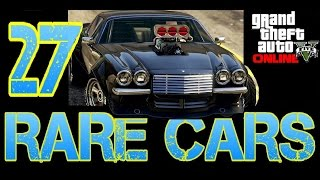 Download GTA 5 ONLINE - ALL RARE AND SECRET 27 CARS LOCATIONS 1.35 *NEW* Video