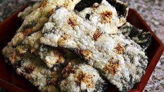 Download Korean seaweed chips (Gim-bugak: 김부각) Video