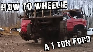 Download HOW TO WHEELIE A 1 TON!! Video