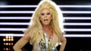 Download RuPaul Champion music video (featuring Raja, Manila Luzon and Alexis Mateo) Video