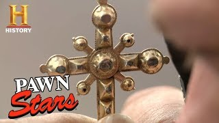 Download Pawn Stars: Baroque Diamond Cross   History Video