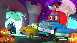 Download QUÁI VẬT tại hội chợ cho lễ HALLOWEEN - Siêu xe tải Carl 🚚⍟ những bộ phim hoạt hình về xe tải Video