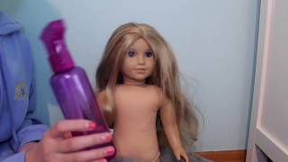 Download Fixing an old AG Doll! Video