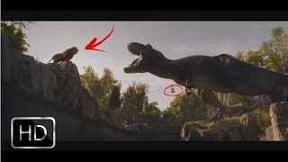 Download BEST SPOT TV JURASSIC WORLD FALLEN KINGDOM - ZOO LION VS T REX Video