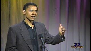 Download From the Vault • Barack Obama • SEP 1995 Video