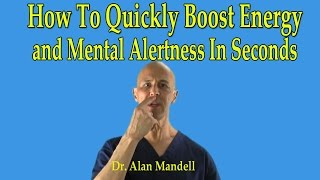 Download How To Quickly Boost Instant Energy and Mental Alertness in Seconds (Chinese Point) - Dr Mandell Video