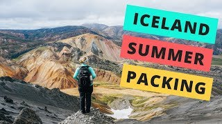 Download What to pack for a summer trip to Iceland Video