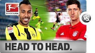 Download Aubameyang vs. Lewandowski - Two Star Strikers Go Head-to-Head Video