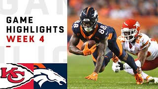 Download Chiefs vs. Broncos Week 4 Highlights | NFL 2018 Video