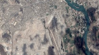 Download Satellite Imagery: The Islamic State's Mosul Defenses Video