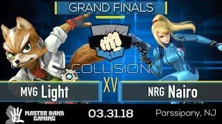Download Collision XV - MVG | Light (Fox) vs NRG | Nairo (ZSS) - Grand Finals Video