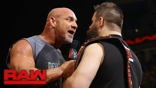 Download Goldberg joins the debut installment of ″The Kevin Owens Show″: Raw, Jan. 2, 2017 Video