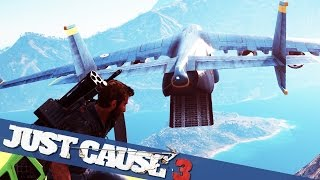 Download BIGGEST PLANE IN JUST CAUSE 3 MADNESS :: Just Cause 3 PC Gameplay Video