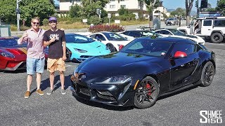 Download TheStradman's New Toyota Supra Hunts the Hypercars! Video