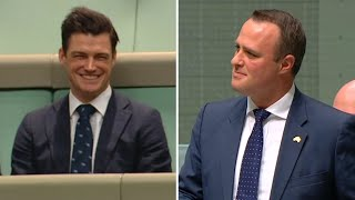 Download Australian MP proposes to partner during same-sex marriage debate in parliament Video