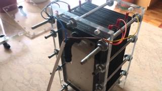 Download hho generator with 31 aluminum plates Video
