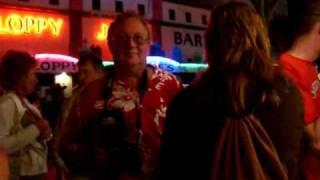 Download Key West Fantasyfest Walking around meeting people Video