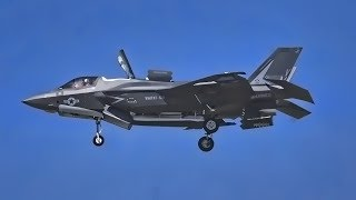 Download Marine Corps F-35B Hovering At Air Show (April 2019) Video