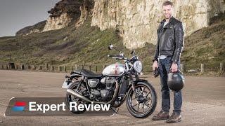 Download 2016 Triumph Street Twin (Bonneville) bike review: Better than a Ducati Scrambler? Video